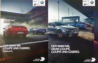 1353 BMW M6 Coupe Cabrio Prospekt 2016 + Preisliste brochure M 6 Coupe Cabrio
