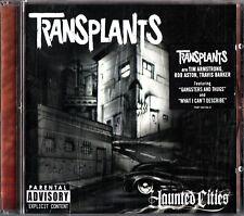 TRANSPLANTS -Haunted Cities CD (Tim Armstrong/Rob Aston/Travis Baker) Punk