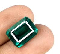 Sambian Green Smaragd Edelstein 8-9 Ct natürlicher Smaragdschliff zertifiziert