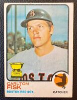 1973 Topps #193 CARLTON FISK All-Star Rookie Boston Red Sox HOF ROOKIE