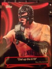 2011 Topps WWE Wrestling Catchy Phrases #CP-6 Rey Mysterio
