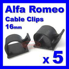 ALFA ROMEO Autoadesivo CLIP PER CAVI FILI CABLAGGIO Telaio Imbracatura 16mm Holder Clamp