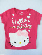 58% OFF! AUTH HELLO KITTY KID'S HEARTS GRAPHIC GLITTER TEE 3T BNEW SRP US$12.95+