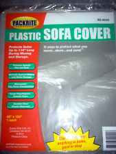 New listing Plastic Sofa Couch Cover For Moving And Storage