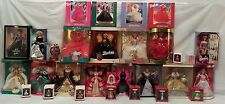 *Nib Holiday Barbie 1990-2001 Complete Lot, Other Anniversary Editions, & More!
