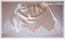 Celestial Silks Custom Silk and Lace Half Slip