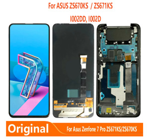 OEM For Asus Zenfone 7 ZS670KS/7 Pro ZS671KS LCD Touch Screen±Frame Replace Part