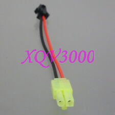 Mini Tamiya Male to Sm Plug 20Awg 10Cm Wire For Battery / Charger Adapter