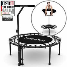 Fitness Trampolin gelenkschonende Gummi-Seil Federung Belastbarkeit 120kg FREE