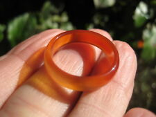 Natural Carnelian Agate ring Thailand jewelry stone art size 7 buy 1 get 1 free