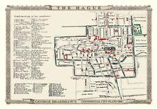 George Bradshaw'S CONTINENTAL CITY PIANO DELL'AIA 1896 - 1000 Pezzo Puzzle