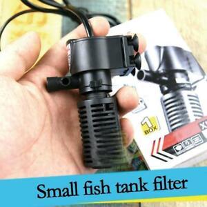 Aquarium Internal Submersible Fish Tank Spray Bar Filtration Pump P1M6