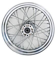 Mid USA 40 Spoke Chrome 16x3 Rear Wheel Harley Sportster 2000-04 (repl 40975-00)
