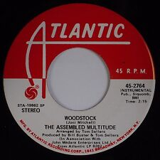 THE ASSEMBLED MULTITUDE: Woodstock USA Atlantic Rock DJ PROMO 45 NM-