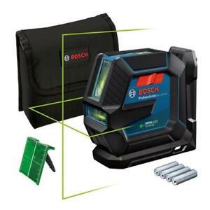 Bosch GLL 2-15 G grün Kreuzlinienlaser inkl. Laserzieltafel