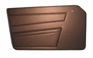 New Pair of Black Door Panels for Triumph TR6 1970-1973 Made in the UK