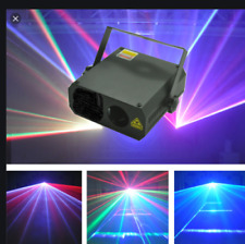 Ultimate House Party * RAVE LASER * Full Colour Easy Plug & Play dj disco lights