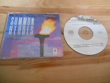 CD Pop Boston Pops Orch John Willams - Summon The Heroes (2 Song) Promo SONY sce
