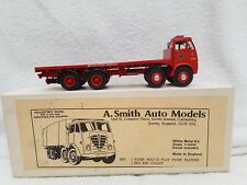 A. Smith Auto Models Foden FG6/15 Flat Front Flatbed BRS Red Dudley