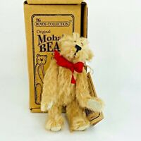 Boyds Bear Dwight D Bearington Jointed Mohair Limited Edition New With Box 5""