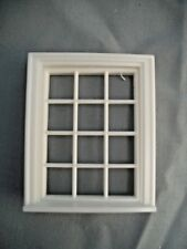 Half Scale 1:24 VICTORIAN 12 PANE WINDOW Jackson's Miniatures Dollhouse #L11