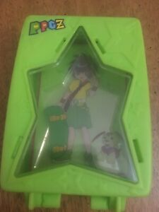 rare htf powerpuff girls z ppg anime mcdonalds buttercup dressup clear cards