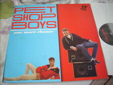 """a941981 Pet Shop Boys ( One Vinyl )  12"""" LP Single One More Chance Made in Belgi"""