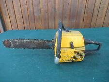 "Vintage PARTNER Chainsaw Chain Saw with 16"" Bar"