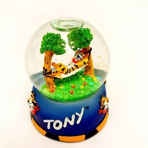 "TONY THE TIGER Miniature Collectible Snow Globe-RARE-3.25""-Kellogg"