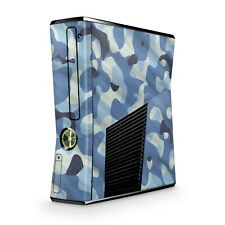 Xbox 360 Slim Skin Aufkleber Schutzfolie Sticker Skins Folie Design Waving Camo