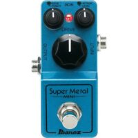 Ibanez SMMINI Super Metal MINI High Gain Distortion Pedal Made in Japan New F/S