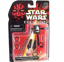 STAR WARS ACCESSORY SET CARDED UNDERWATER,WITH BUBBLING BACKPACK,COLLECTIBLE,NEW