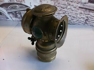 Vintage bicycle / motorcycle lamp Hassia Make) early 1900's Up cycle ?