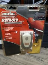 Genie Compact 1 Button Remote Control + Docking Station and Key Chain NOS