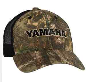 Yamaha Real Tree Camo Hat Mens One Size Fits Most