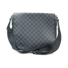 Authentic LOUIS VUITTON DAMIER GRAPHITE DANIEL MM N58029 #260-002-155-1406