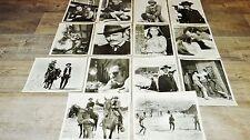 DOC HOLLIDAY Faye Dunaway tres rare les 14 photos presse cinema 1970 western