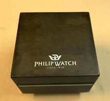 """BOX in legno per orologio """" PHILIP WATCH """" Since 1858"""