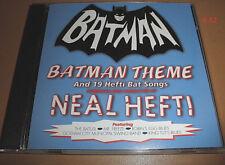 Adam West BATMAN 66 neal Hefti CD Batusi Robin Gotham City Mr Freeze THEME