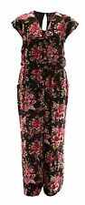 Brand New 16 - 24 V Neck Playsuit Light Jumpsuit Floral / Trouser Dress Womens