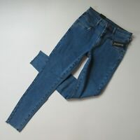 NWT Blank NYC The Great Jones High Rise Front Yoke Stretch Skinny Jeans 27