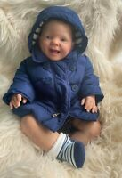 Very Lifelike Reborn Baby Doll Oscar - 6 Months - Wessex Reborns