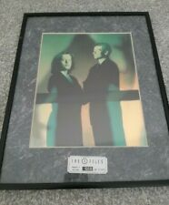 Rare X-Files Framed Chromium Print Season 2 No 668 Of 3,500 Collectable Poster