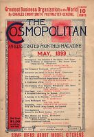 1899 Cosmopolitan May - Mohammed:Abu Baker Building of an Empire;Klondike;Teddy