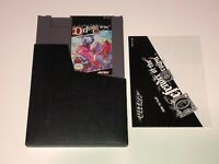 Defender of the Crown w/Manual & Sleeve Nintendo Nes Cleaned & Tested Authentic