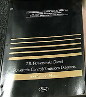 2000 Ford 7.3L POWERSTROKE DIESEL Powertrain Control Emission Service Manual PCD
