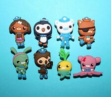 Octonauts Cake Decorations 8 Cupcake Toppers Charms Party Favours Peso Kwazi NEW