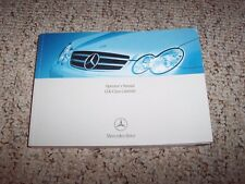 2007 Mercedes Benz CLK Cabriolet Convertible CLK350 CLK550 CLK63 Owner Manual