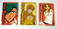 Hot Gimmick Volumes 1, 3 and 7 Miki Aihara (Viz Media, Manga Lot) Graphic Novel