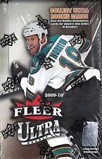 2009-10 Fleer Ultra Factory Sealed Hockey Hobby Box   Jambalaya Inserts?